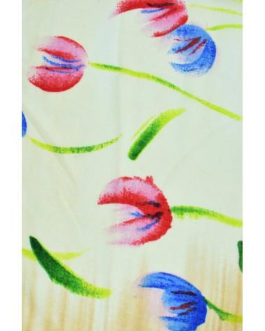 Foular estampado tulipanes. Precio 2.95€/U