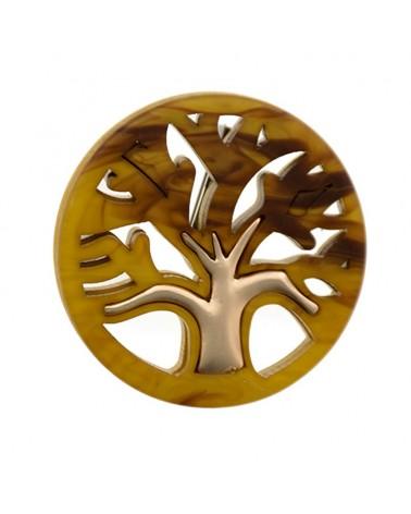 Broche árbol de la vida metacrilato