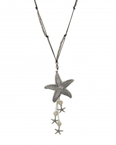Collar largo estrella de mar